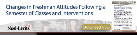 2014 Report: Changes in Freshman Attitudes Following a Semester of Classes and Interventions