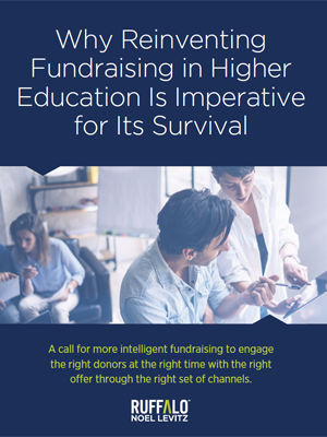 Read our white paper for higher education fundraisers