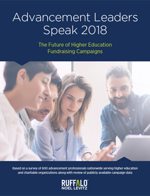 The Future of Higher Education Fundraising Campaigns