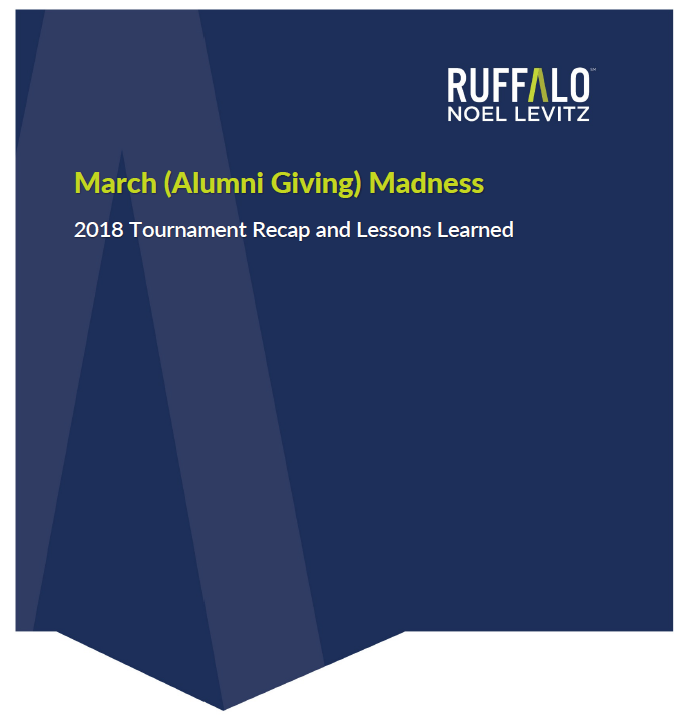 March Alumni Giving Madness e-book
