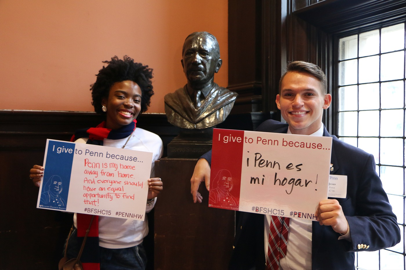 Penn students show why they support student philanthropy