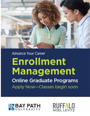 Higher education professional development: Bay Path degree in enrollment management
