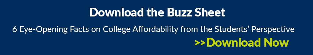 Download the College Affordability Buzz Sheet