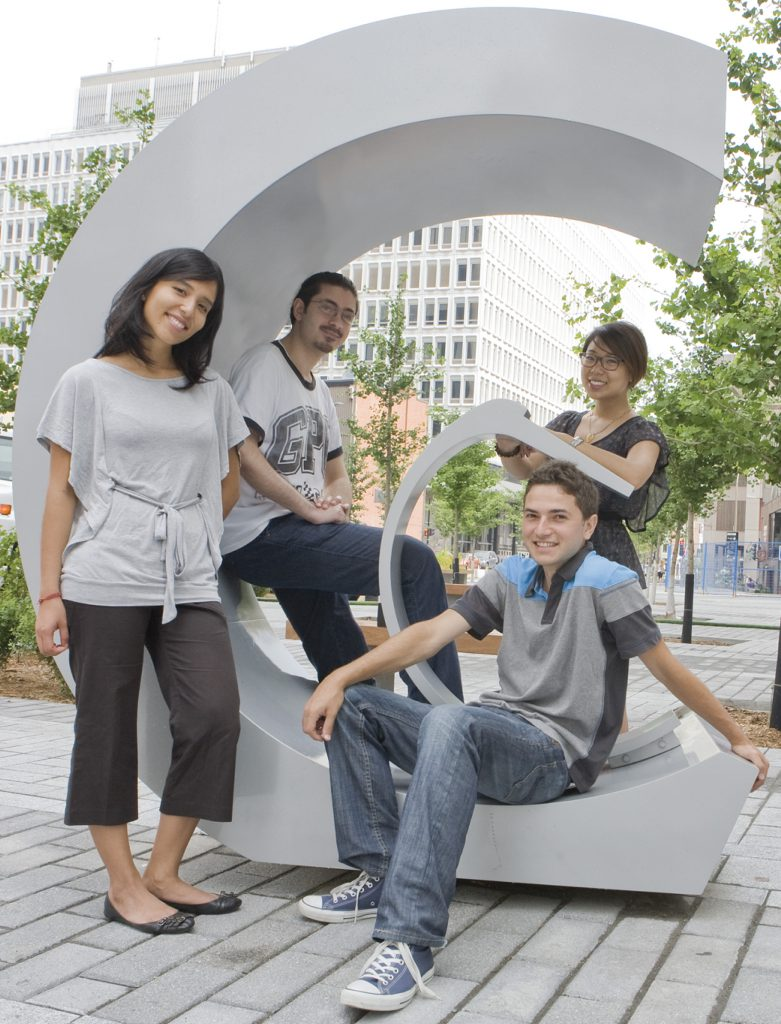 Mentors at Concordia University Montreal provide important connections for first-year students and are a key part of the university's student retention initiatives.