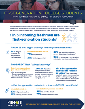 7 strategies for engaging first-generation college students