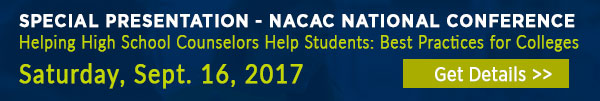 Enrollment referrals: Presentation at 2017 NACAC
