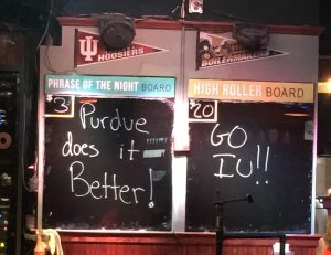 IU Purdue Howl at the Moon