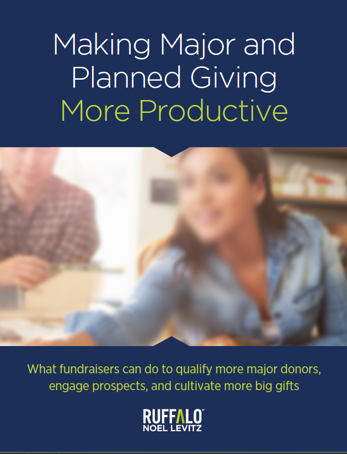 2Making Major and Planned Giving More Productive