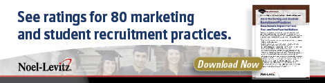 2013 Marketing and Student Recruitment Practices Benchmark Report