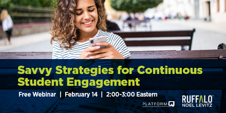 Join us for this webinar on online engagement planning