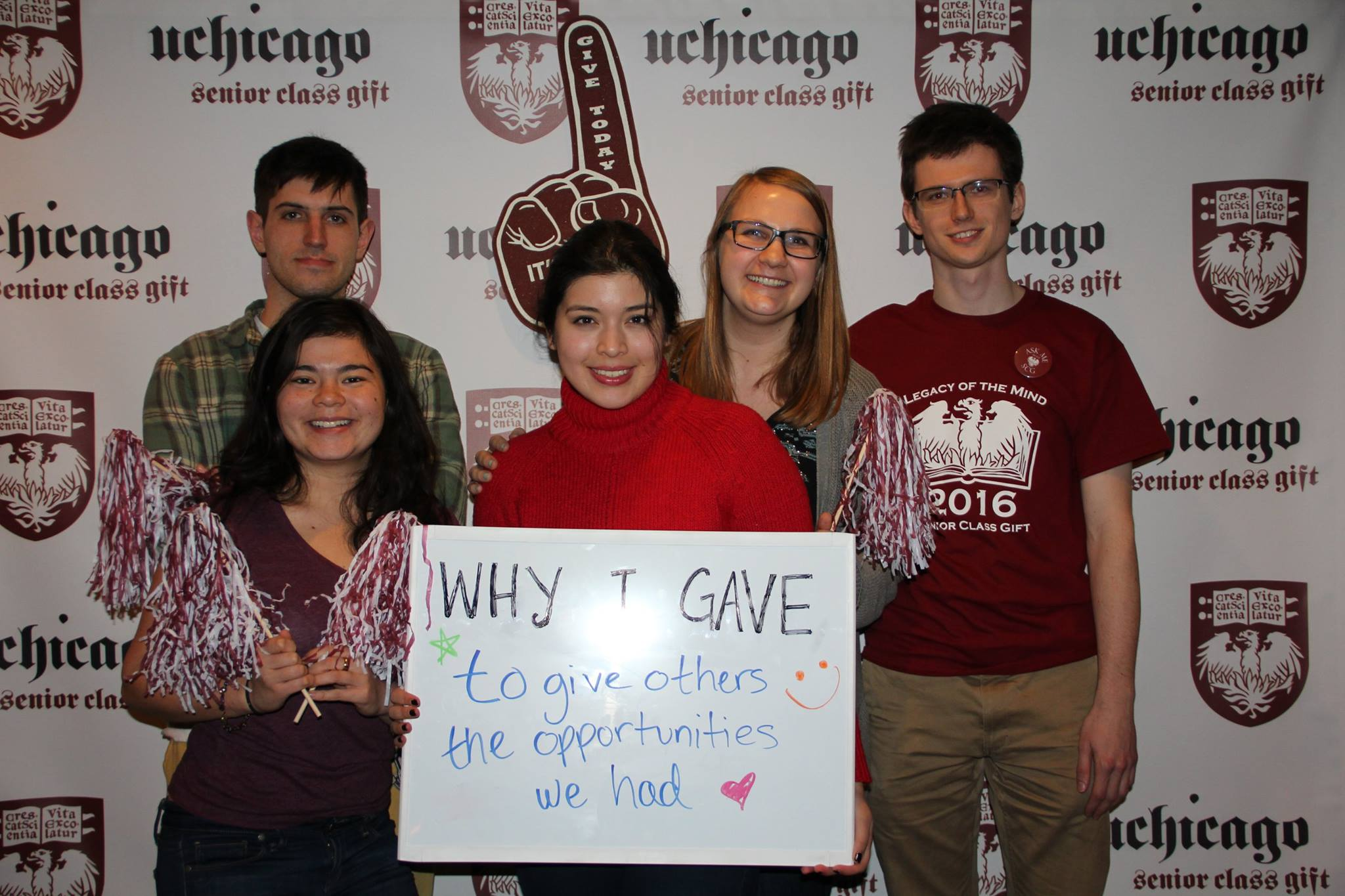 University of Chicago students show why they support student philanthropy