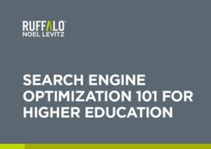 Free download: SEO 101 for Higher Education