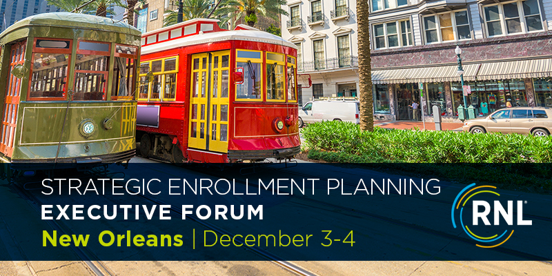 2019 Strategic Enrollment Planning Forum New Orleans