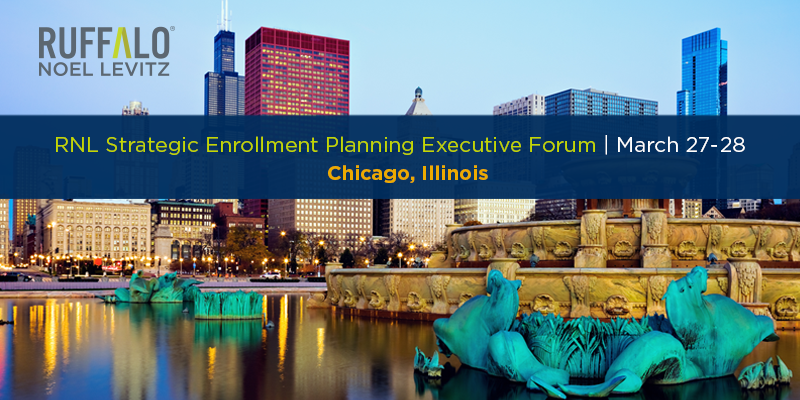 2019 Strategic Enrollment Planning Executive Forum