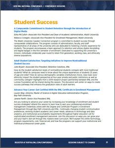 2019 RNL National Conference Student Success Sessions