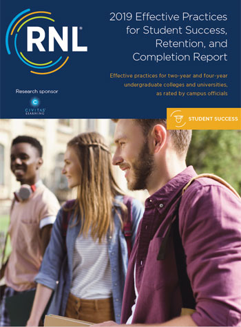 2019 College Student Retention Practices Report