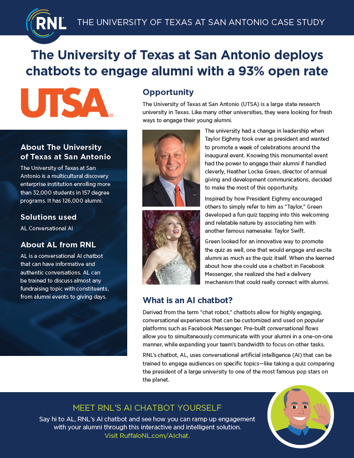 University of Texas at San Antonio Case Study