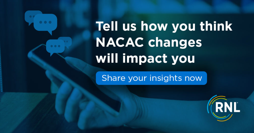 Take our survey to tell us how NACAC changes will impact you