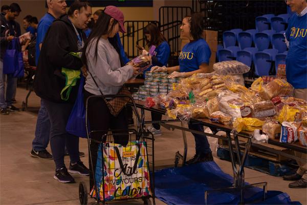 San Jose State University Food Bank