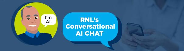 AL AI chat banner