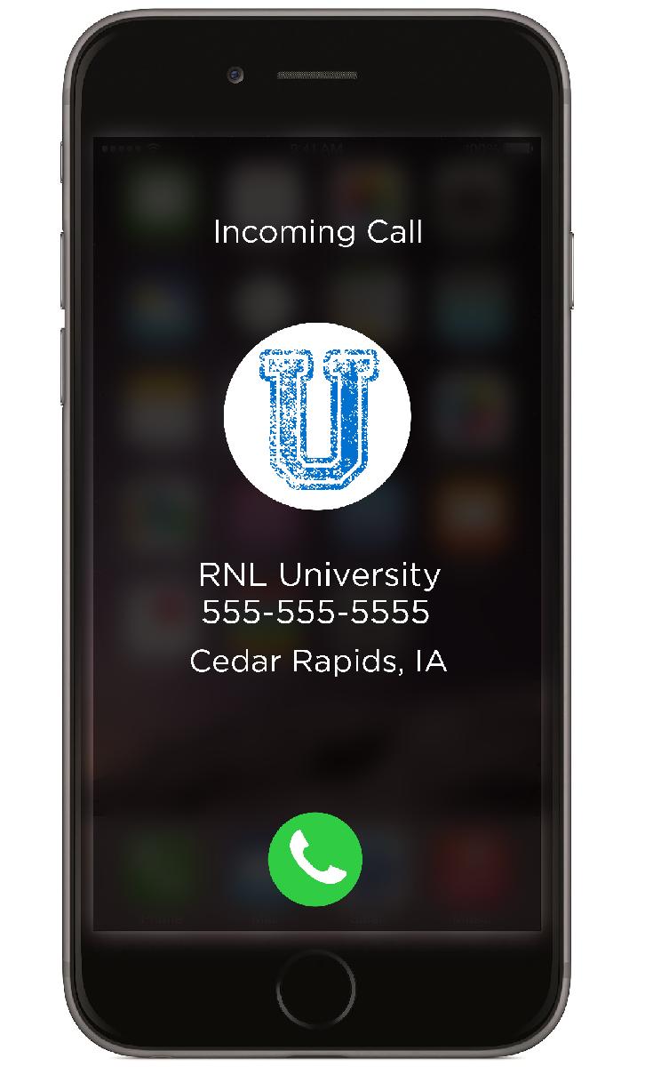 RNL Visual Caller ID for Enrollment