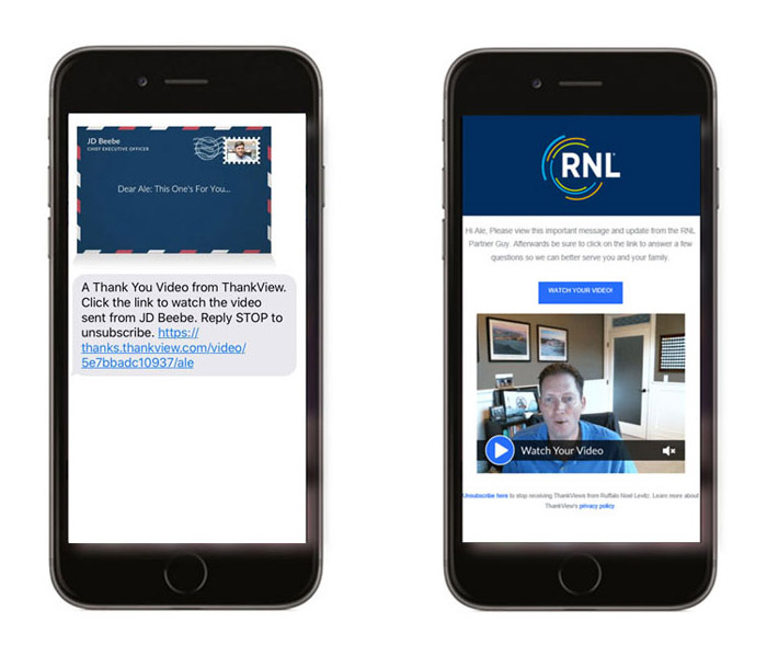 RNL Video Engagement for College Student Enrollment