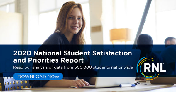 Read the 2020 Student Satisfaction and Priorities Report