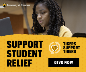 University of Missouri student relief ad