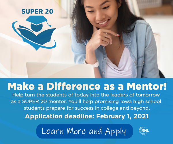 SUPER 20 Mentor program