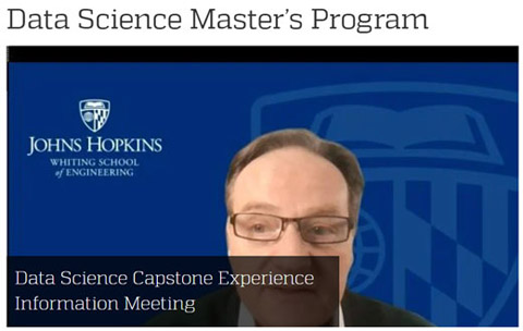 Johns Hopkins University on-demand event