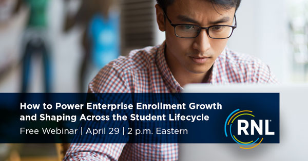 How to Power Enterprise Enrollment Growth & Shaping Across the Student Lifecycle