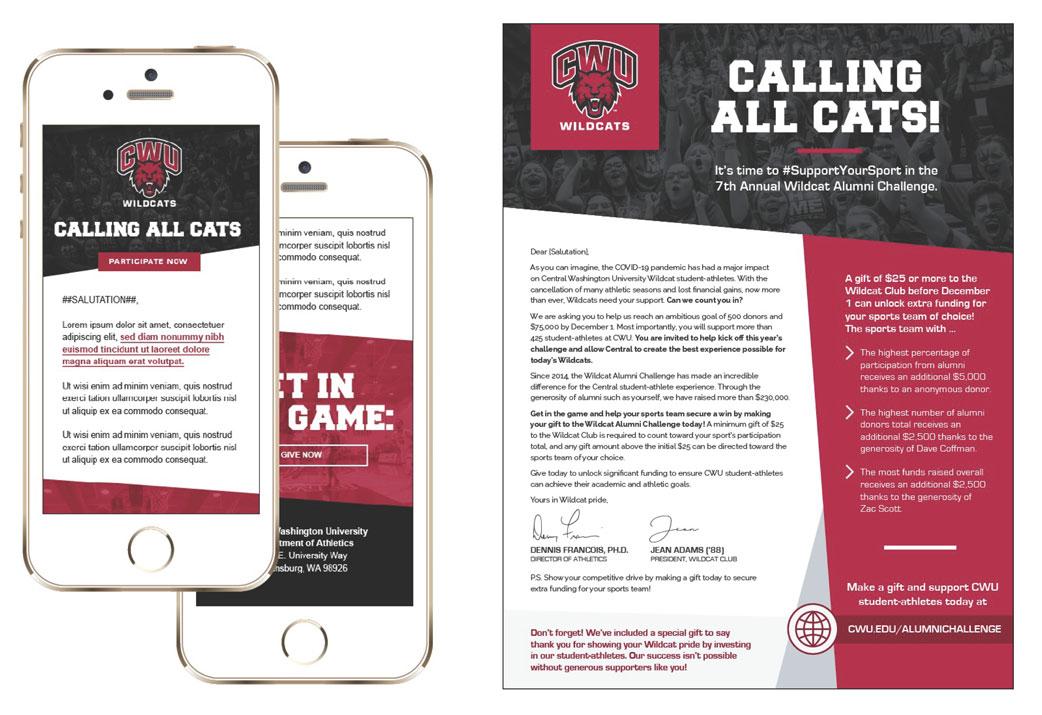 Central Washington University Alumni Challenge Campaign