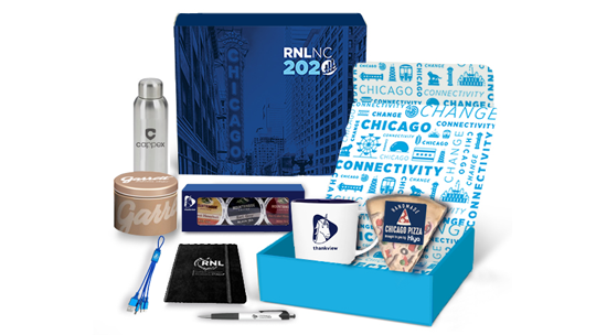 RNL Swag Box from 2020 National Conference