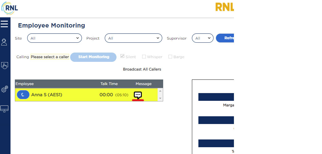 RNL Engage: Sending a chat message to a Student Ambassador