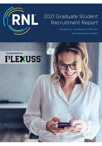 2021 Graduate Student Recruitment Report