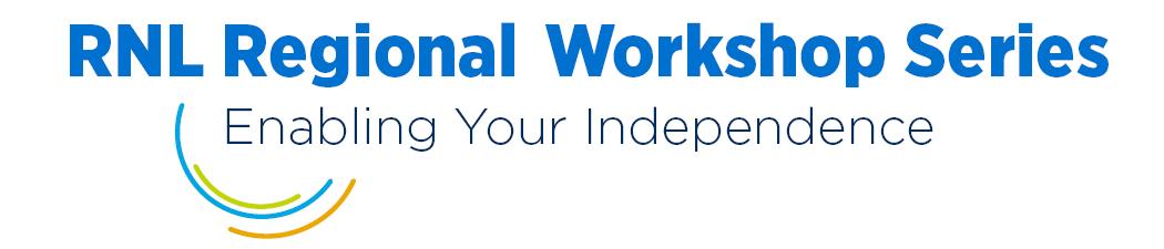 2021 RNL Regional Workshop Series