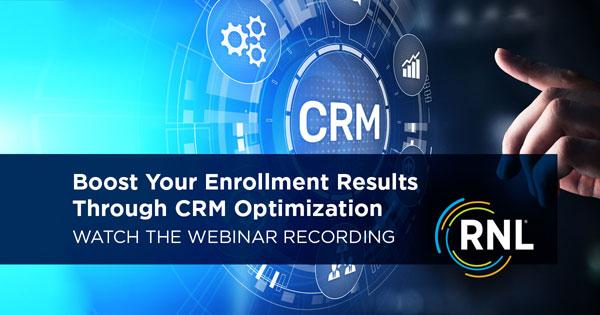 CRM Solutions On-Demand Webinar