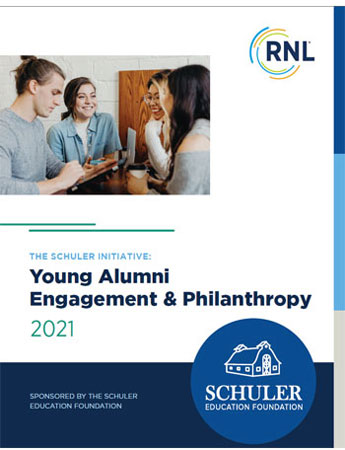 2021 Schuler Report on Young Almuni Philanthropy