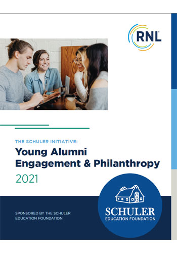 2021 Young Alumni Engagement and Philanthropy